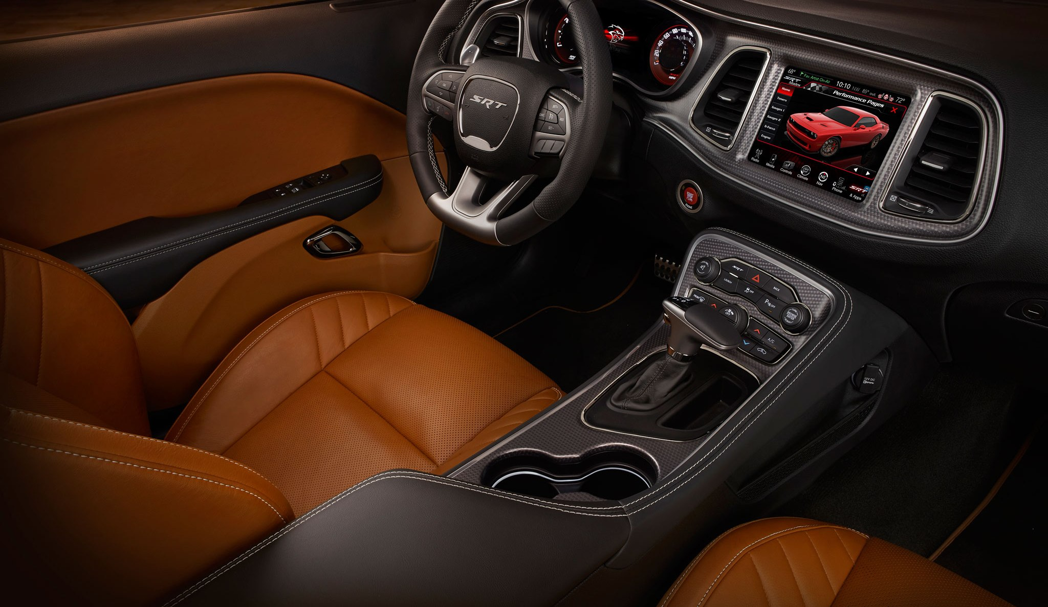 Sepia Colored Interior Srt Hellcat Forum