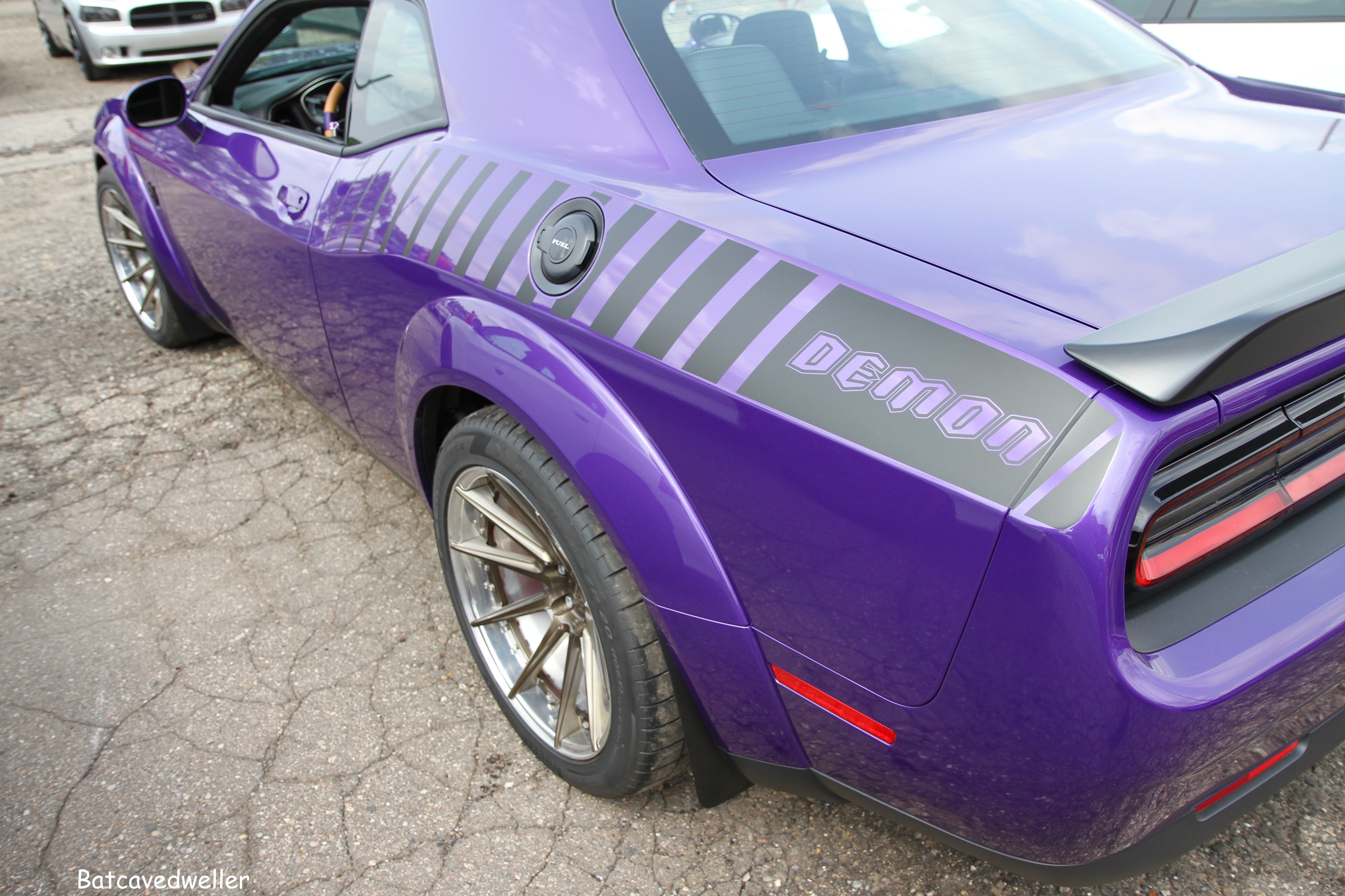 """Hellcat White Lettering Large Decal 16/"""" x 3.2/"""""""