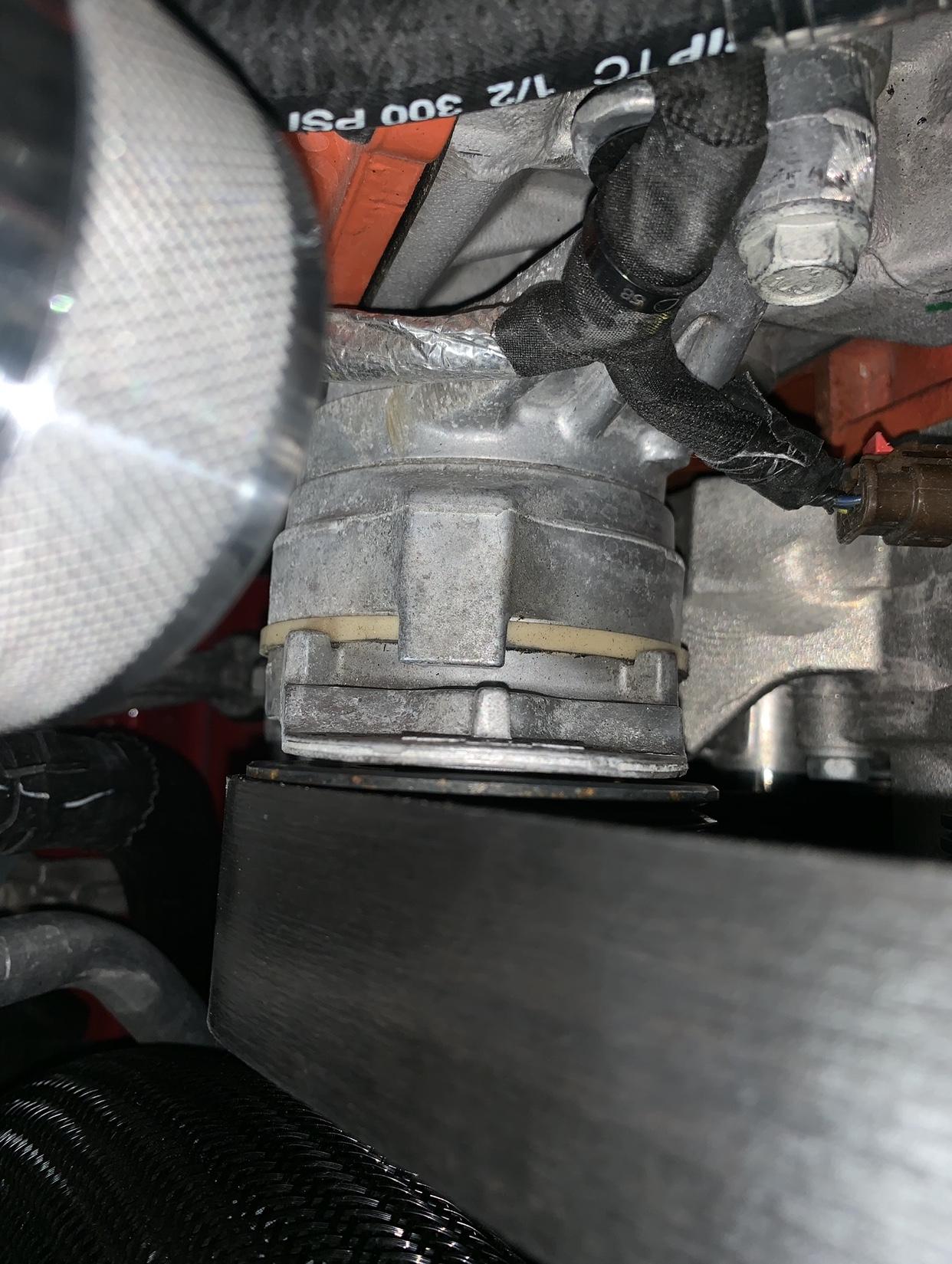 The great pulley/belt size thread | SRT Hellcat Forum