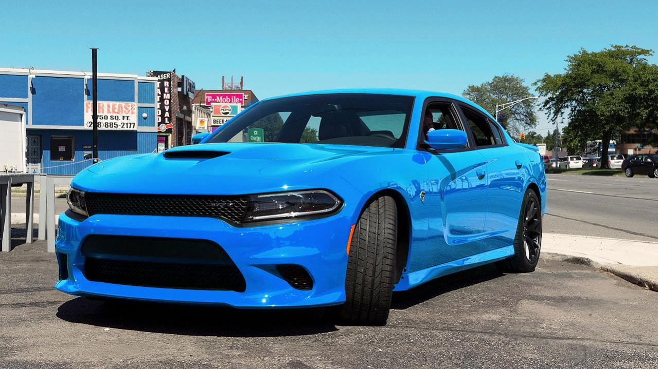 b5 hellcat 2ajpg - 2016 Dodge Charger Hellcat Blue