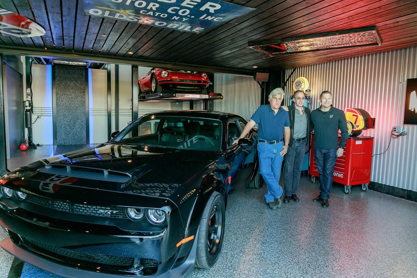 2017 Challenger Hellcat >> TIM ALLEN takes delivery of his demon from TIM K. | SRT Hellcat Forum