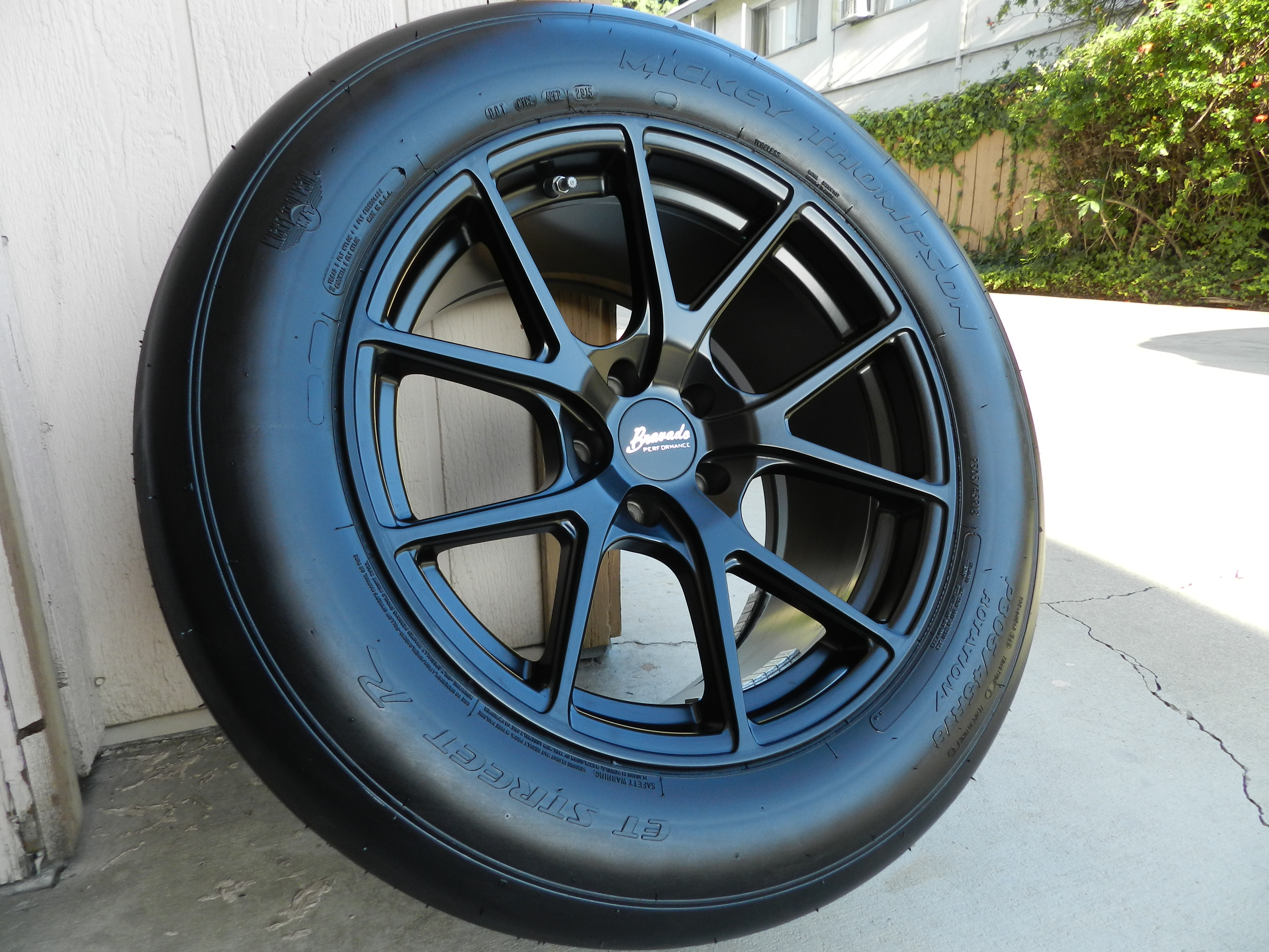 What is the perfect drag slick size and wheel size?? | SRT