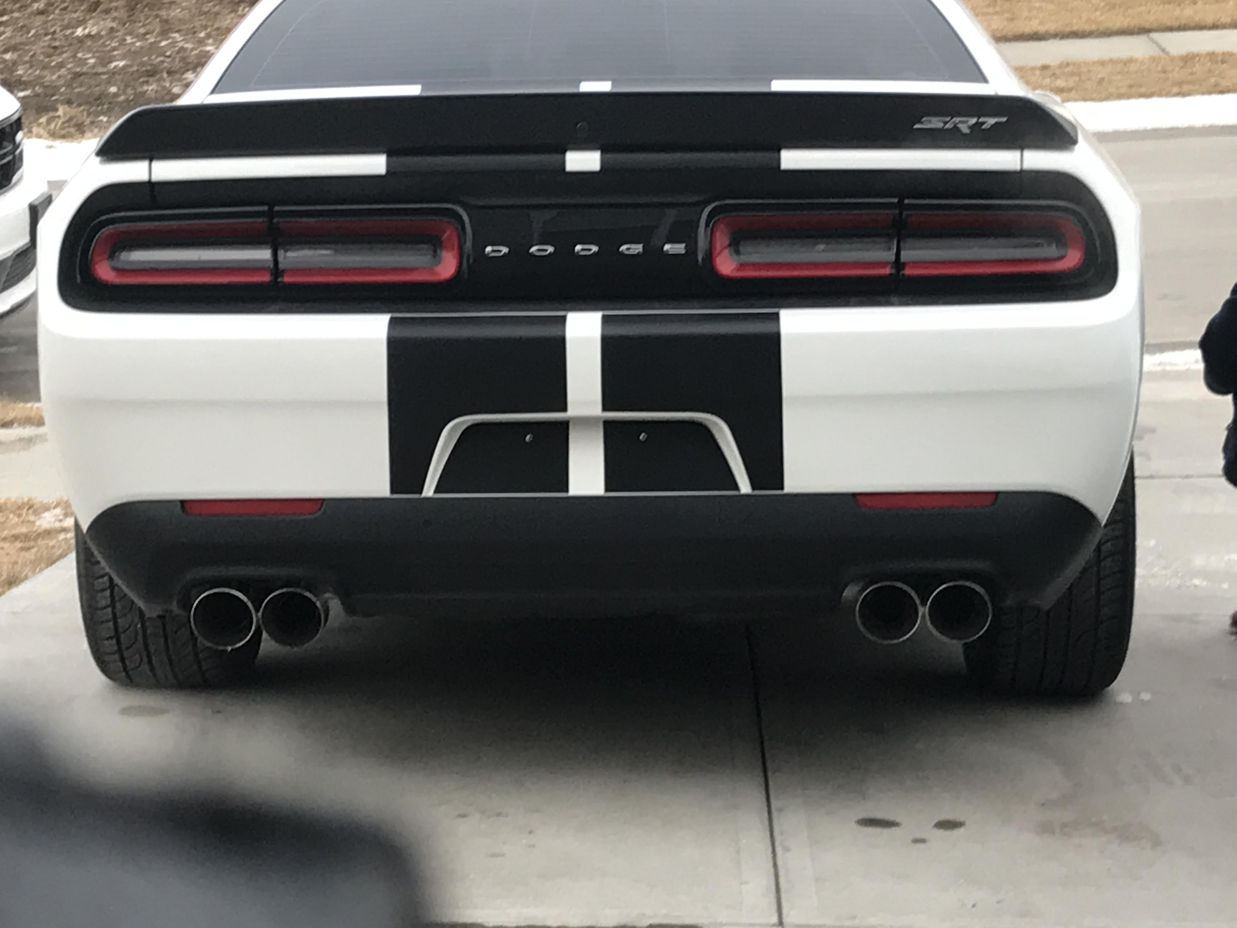Dual exhaust tips | SRT Hellcat Forum