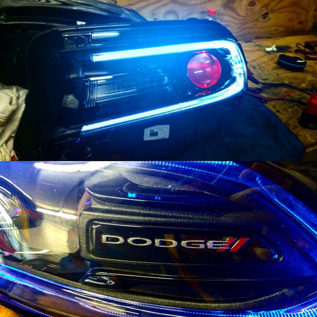 2015 Srt Headlight Upgrades Srt Hellcat Forum