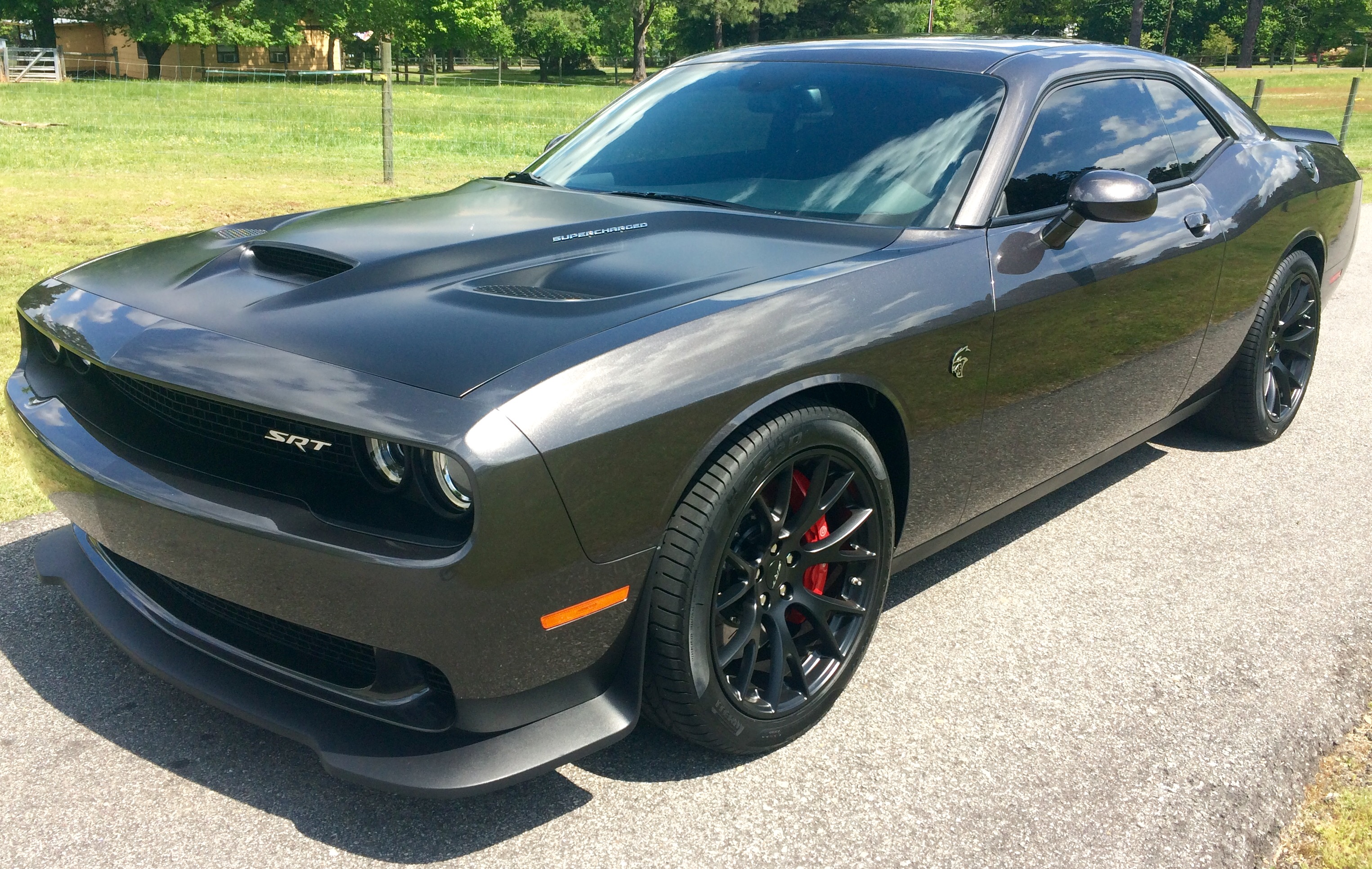 Dodge Challenger 2014 >> Pictures of Granite Crystal Challengers please | Page 3 | SRT Hellcat Forum
