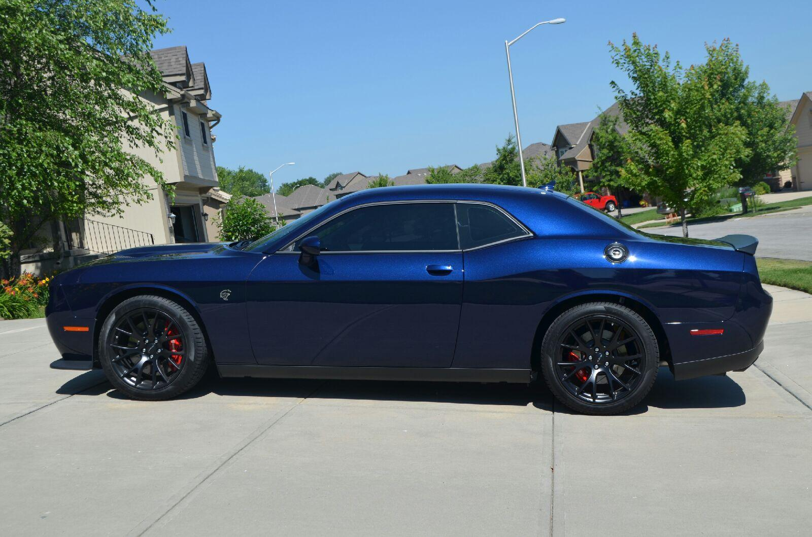 view attachment 33355 - 2016 Dodge Charger Hellcat Blue