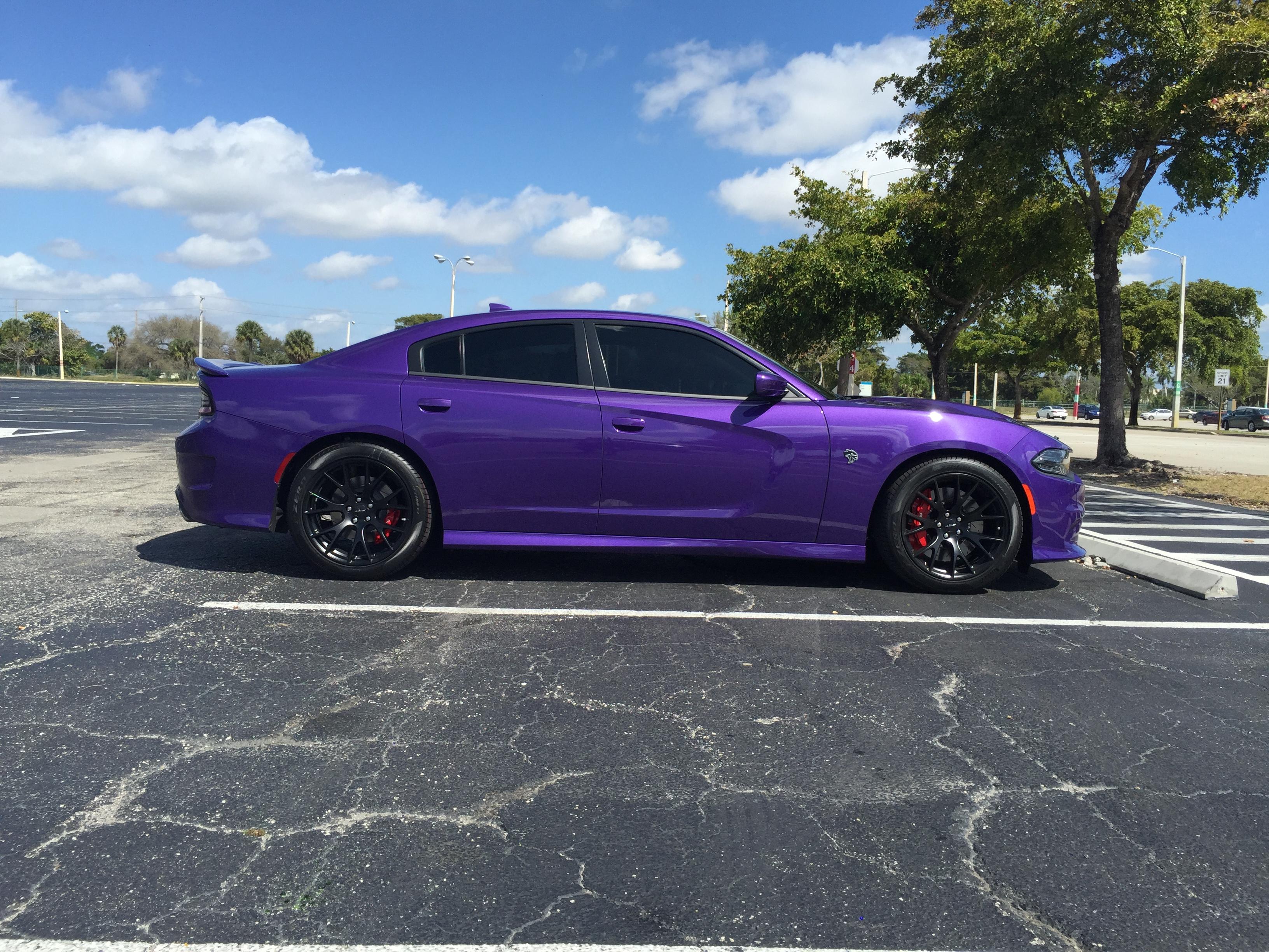 Plum Crazy Purple Hellcat Photos   Page 14   SRT Hellcat Forum