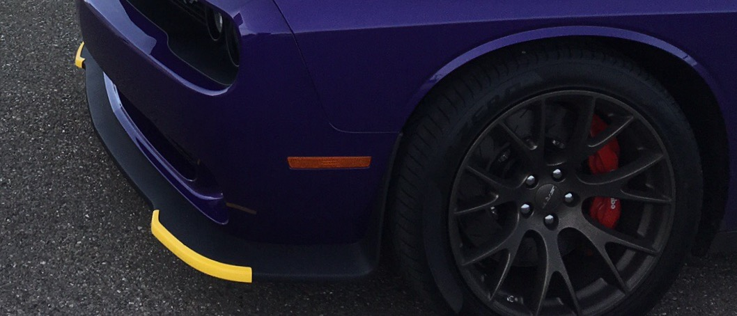 Yellow Chin Splitter Protectors  Yes or No | SRT Hellcat Forum