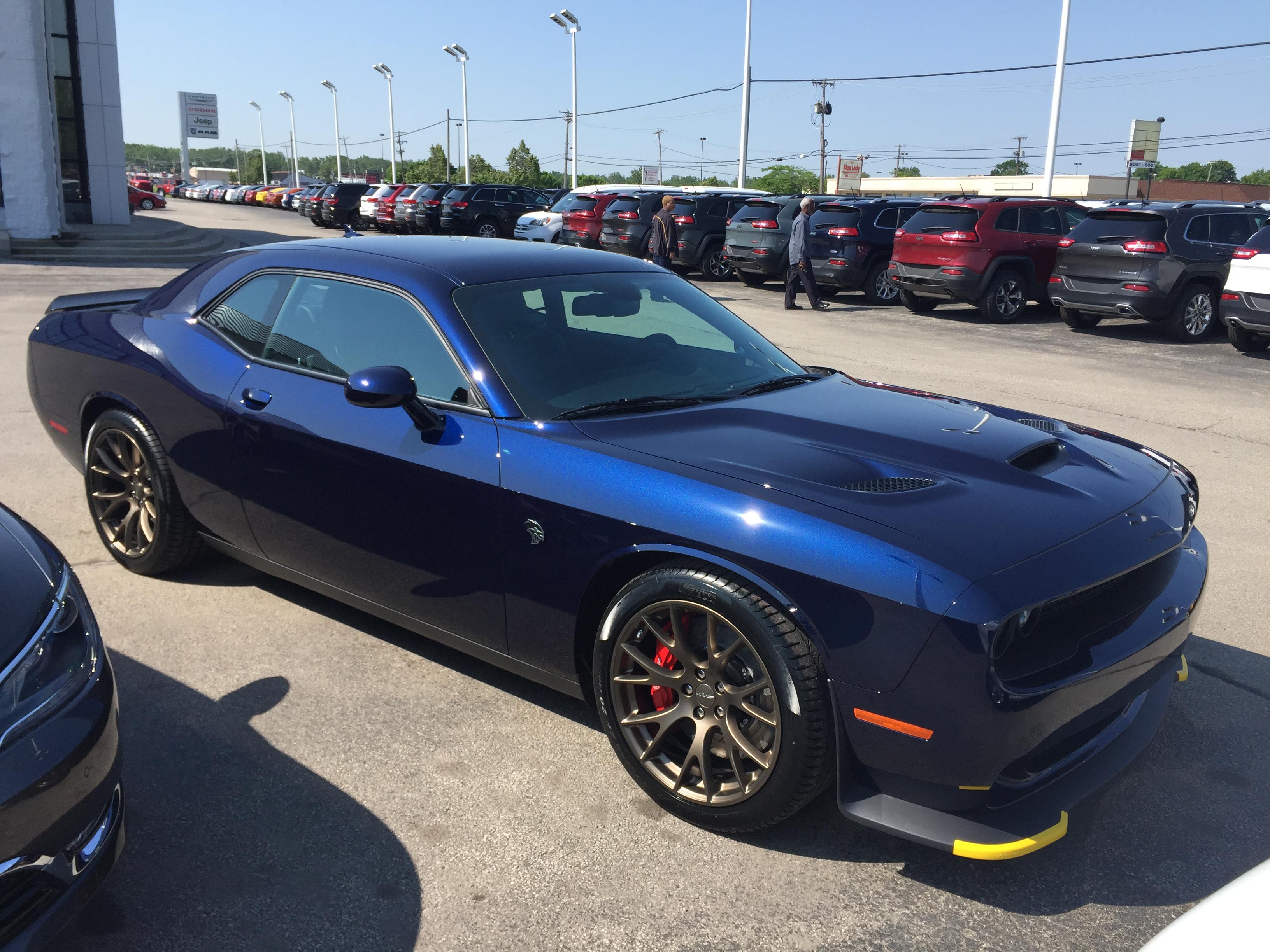Dodge Challenger Hellcat Blue >> Looking At Jazz Blue Hellcat Page 4 Srt Hellcat Forum