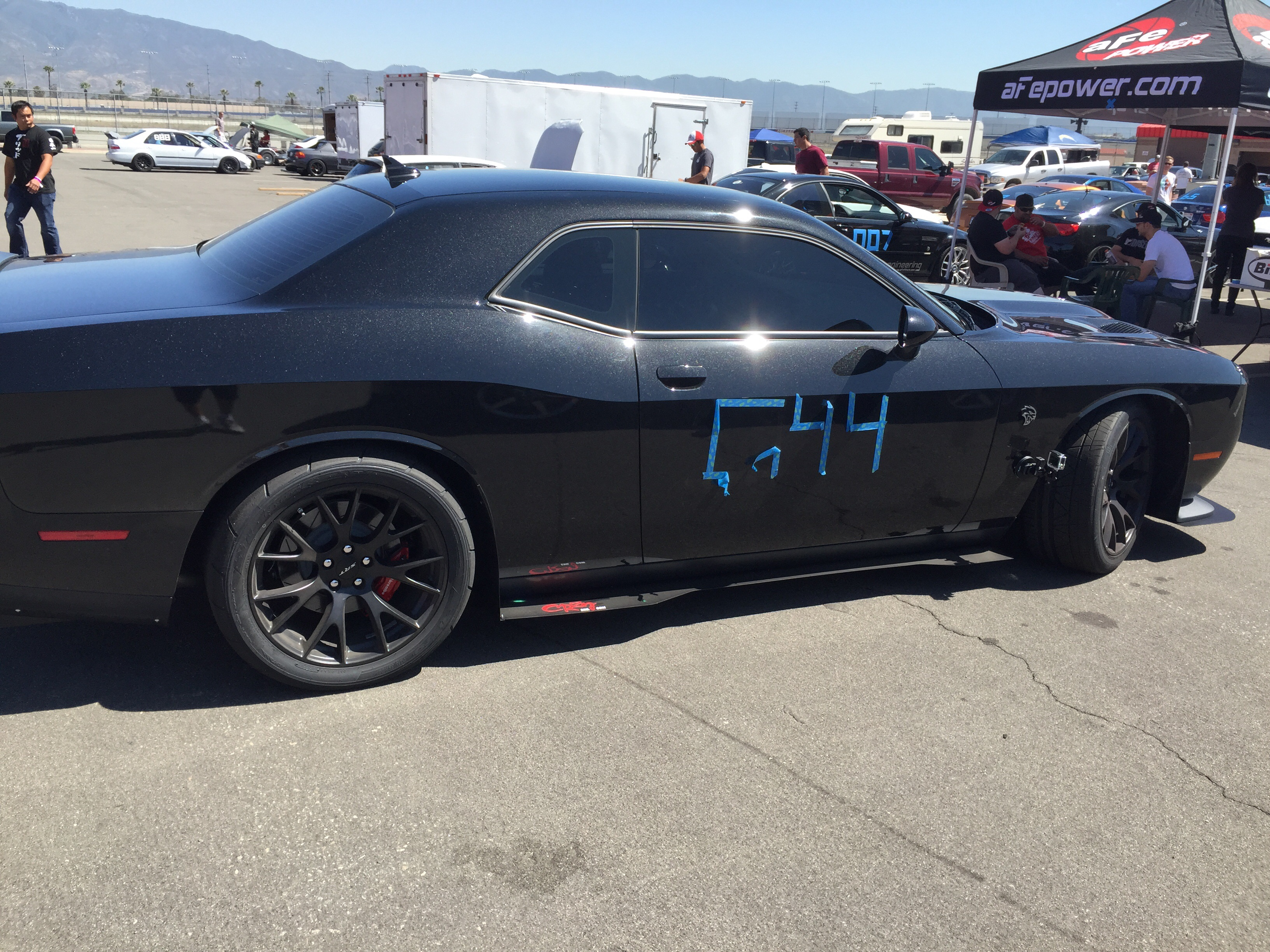hellcat aero package with pictures srt hellcat forumSide Skirts For Dodge Challenger #16