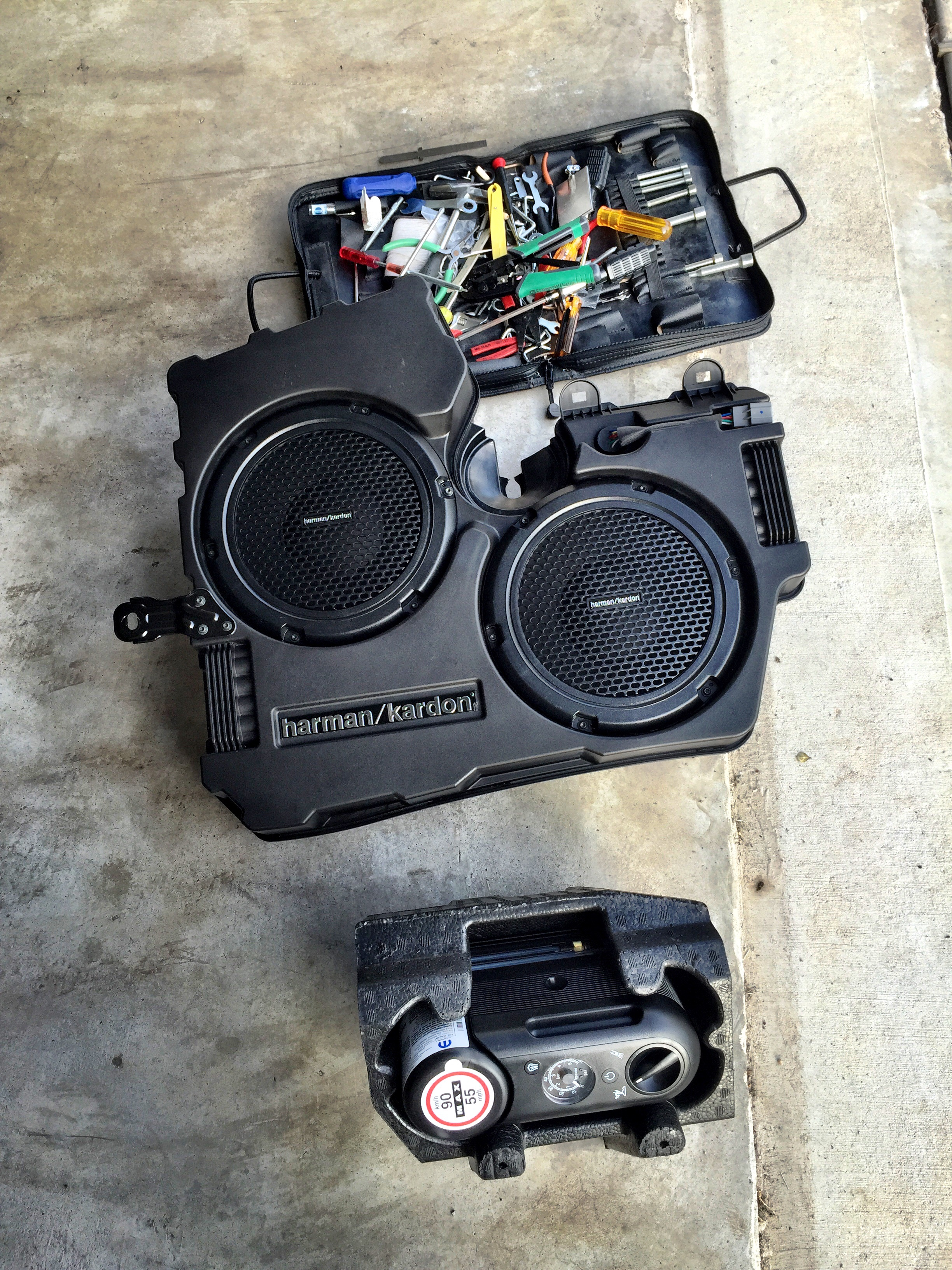 Planning To Replace The Factory Harman Kardon Subwoofers