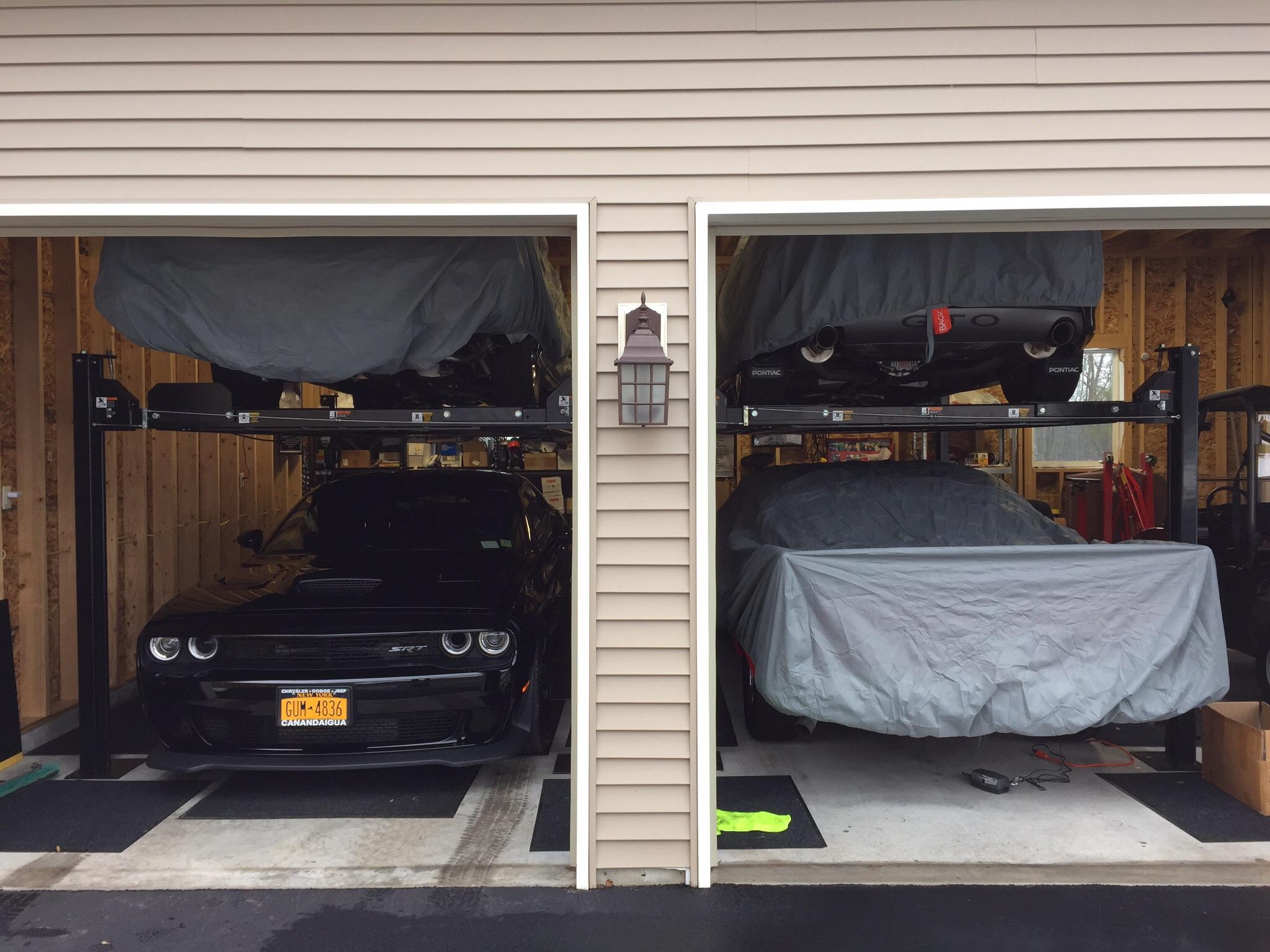car storage lift srt hellcat forum