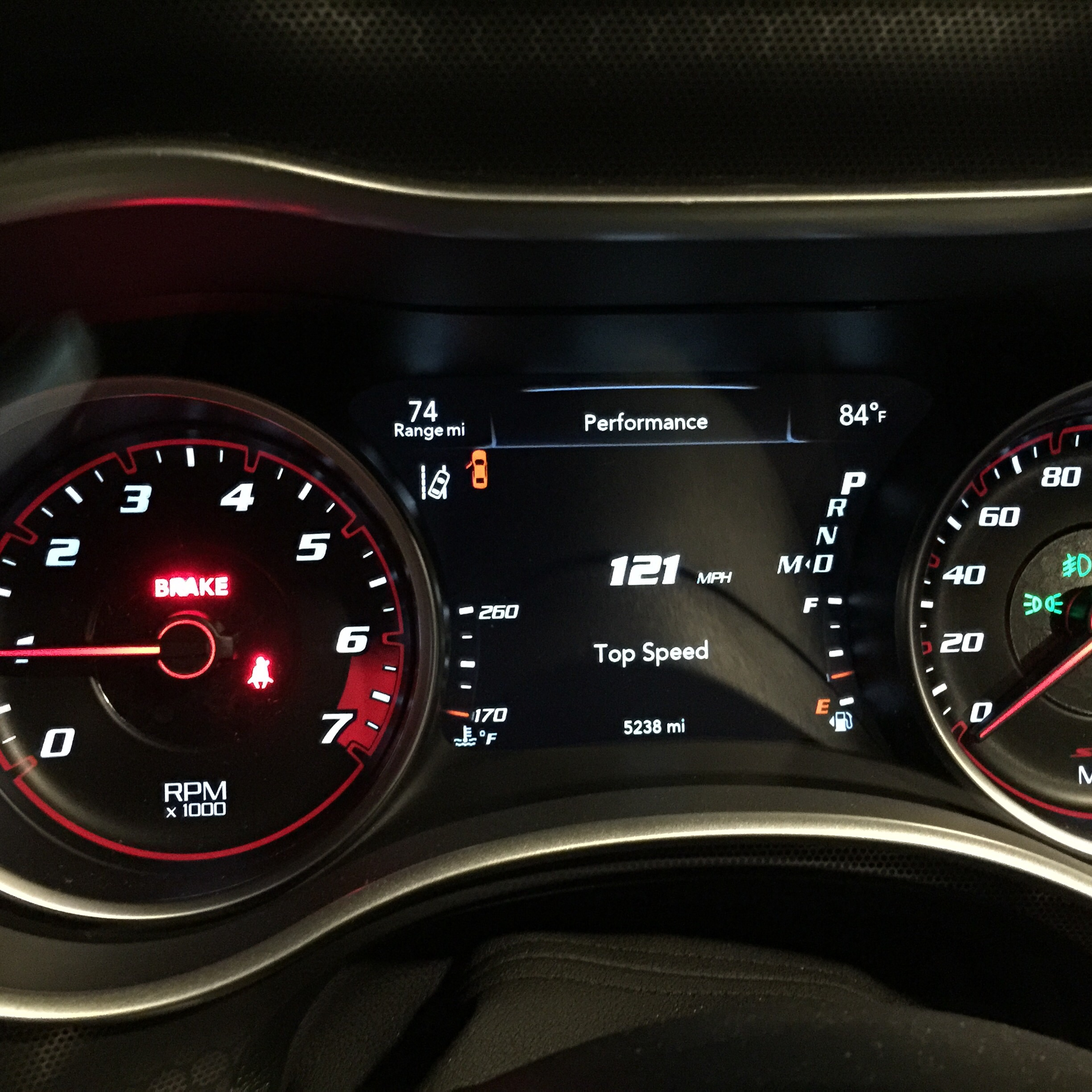 Top Speed on your instrumentation display on the STREET | SRT ...