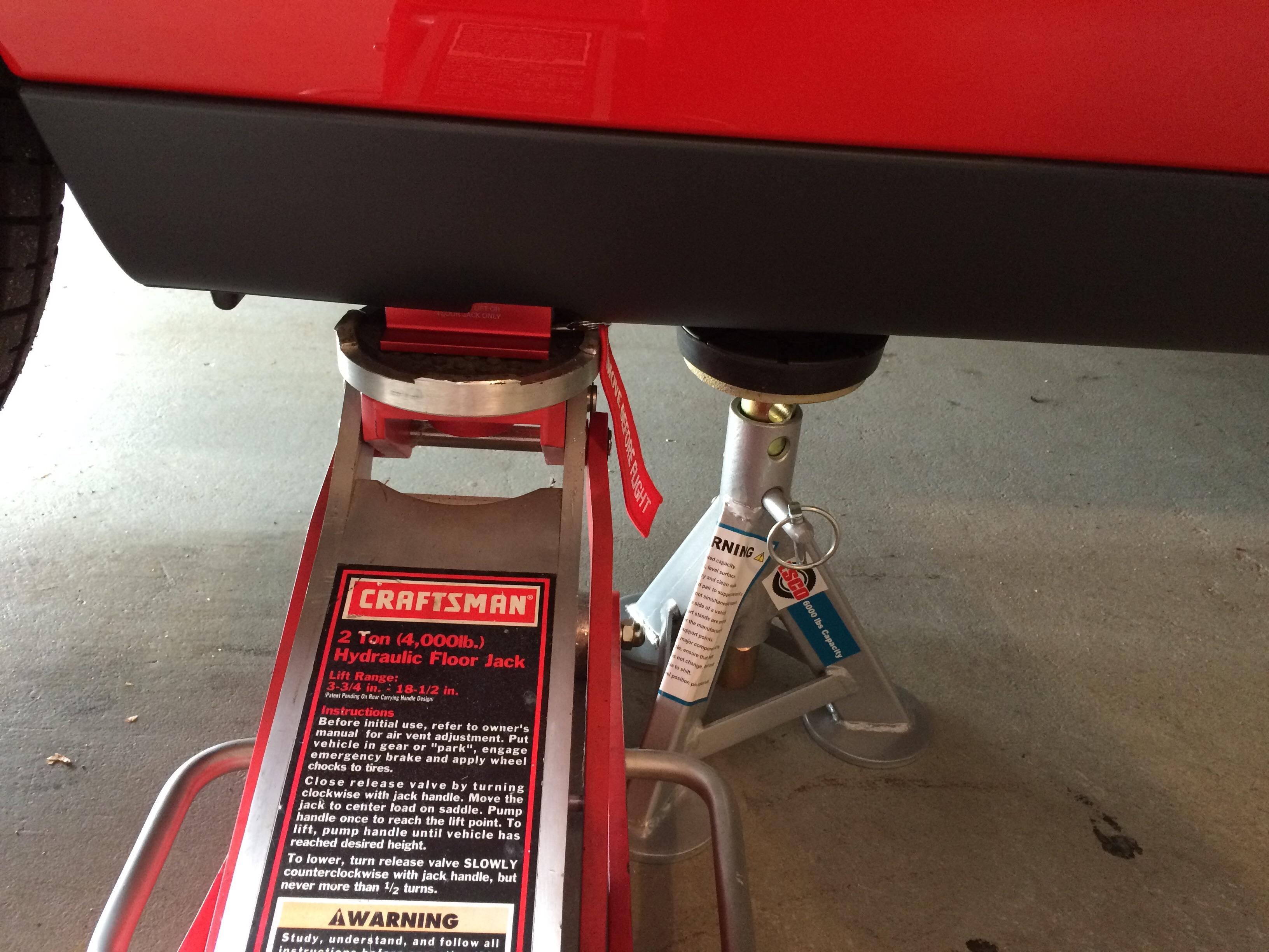 Product Review Esco Flat Pad Jack Stands Srt Hellcat Forum