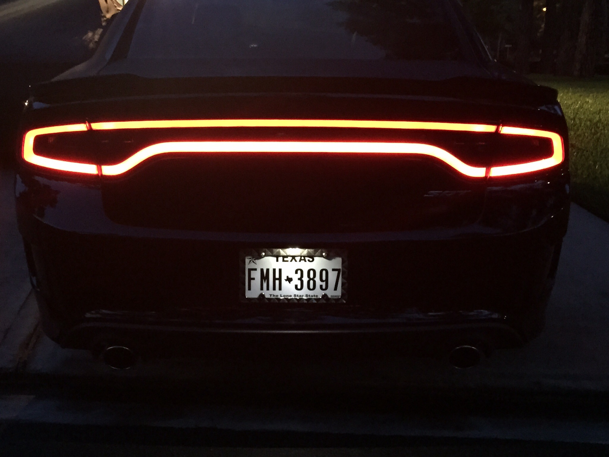 Dodge Charger Tail Lights >> Smoked tail lights and Side markers. | SRT Hellcat Forum