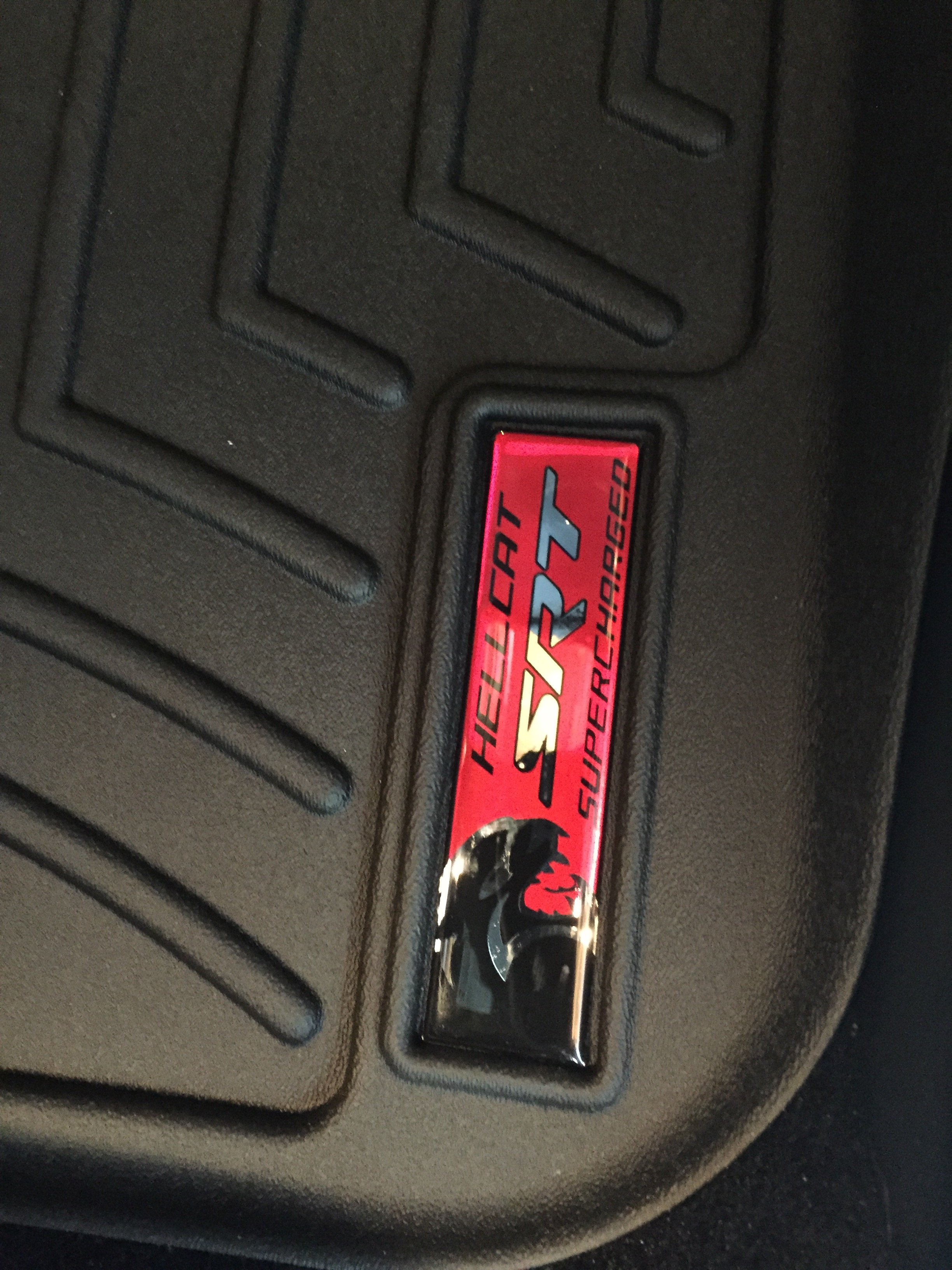 What floor mats did you get? Husky or Weathertech? | SRT Hellcat Forum