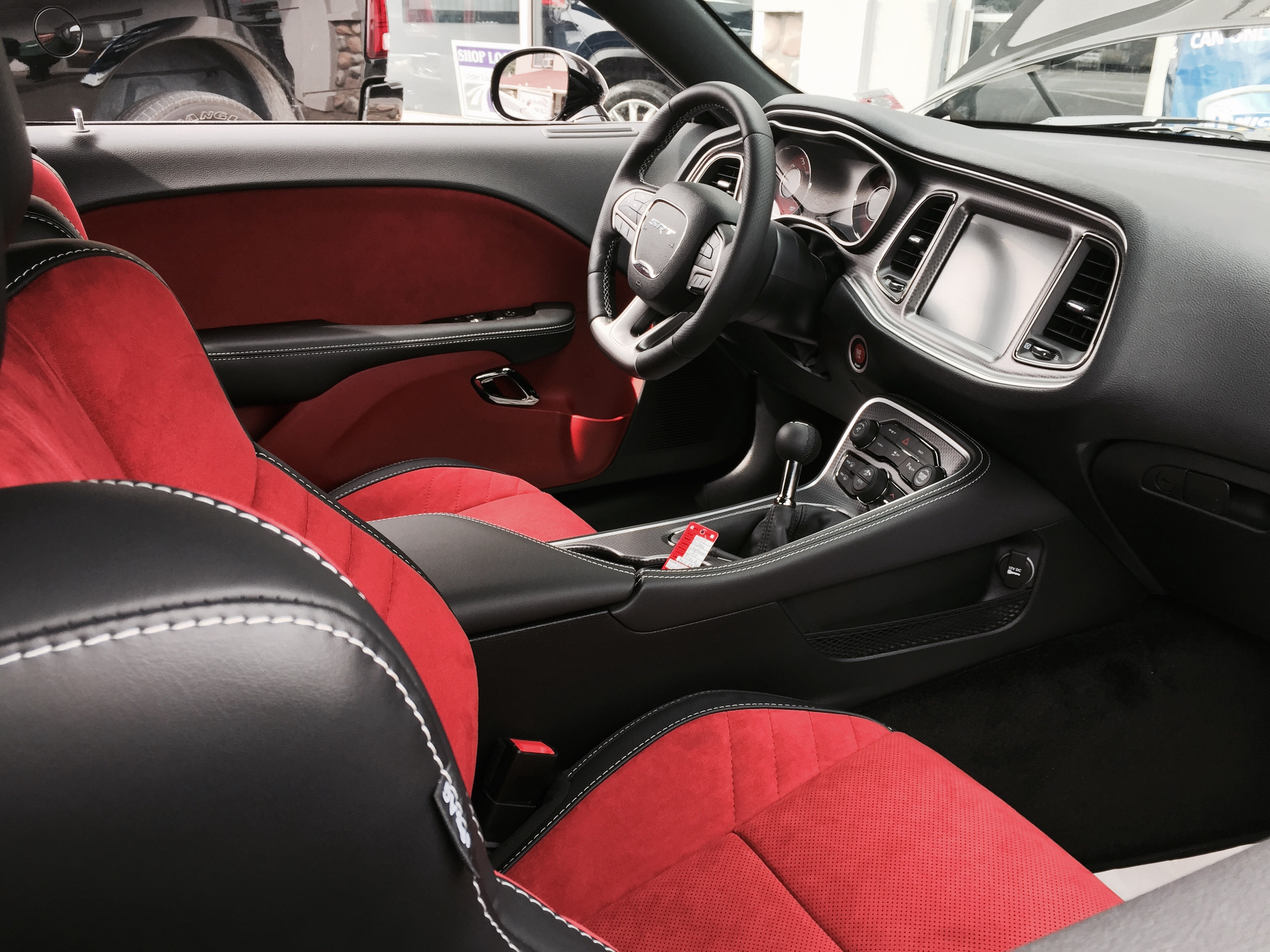Cozy Leather Seats For Dodge Challenger Aratorn Sport Cars