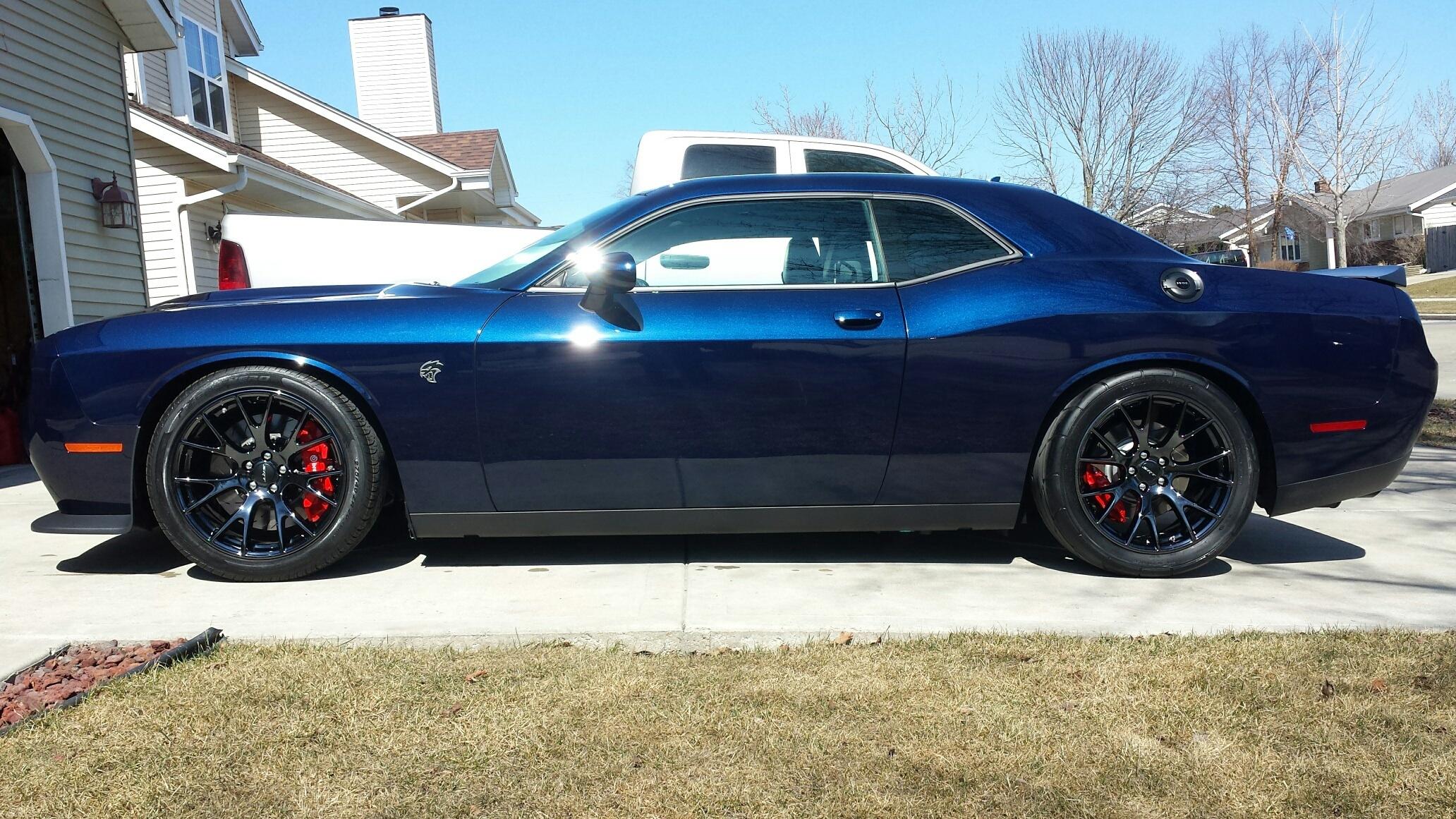 Dodge Challenger Hellcat Blue >> Black Gloss Hellcat Rims | SRT Hellcat Forum