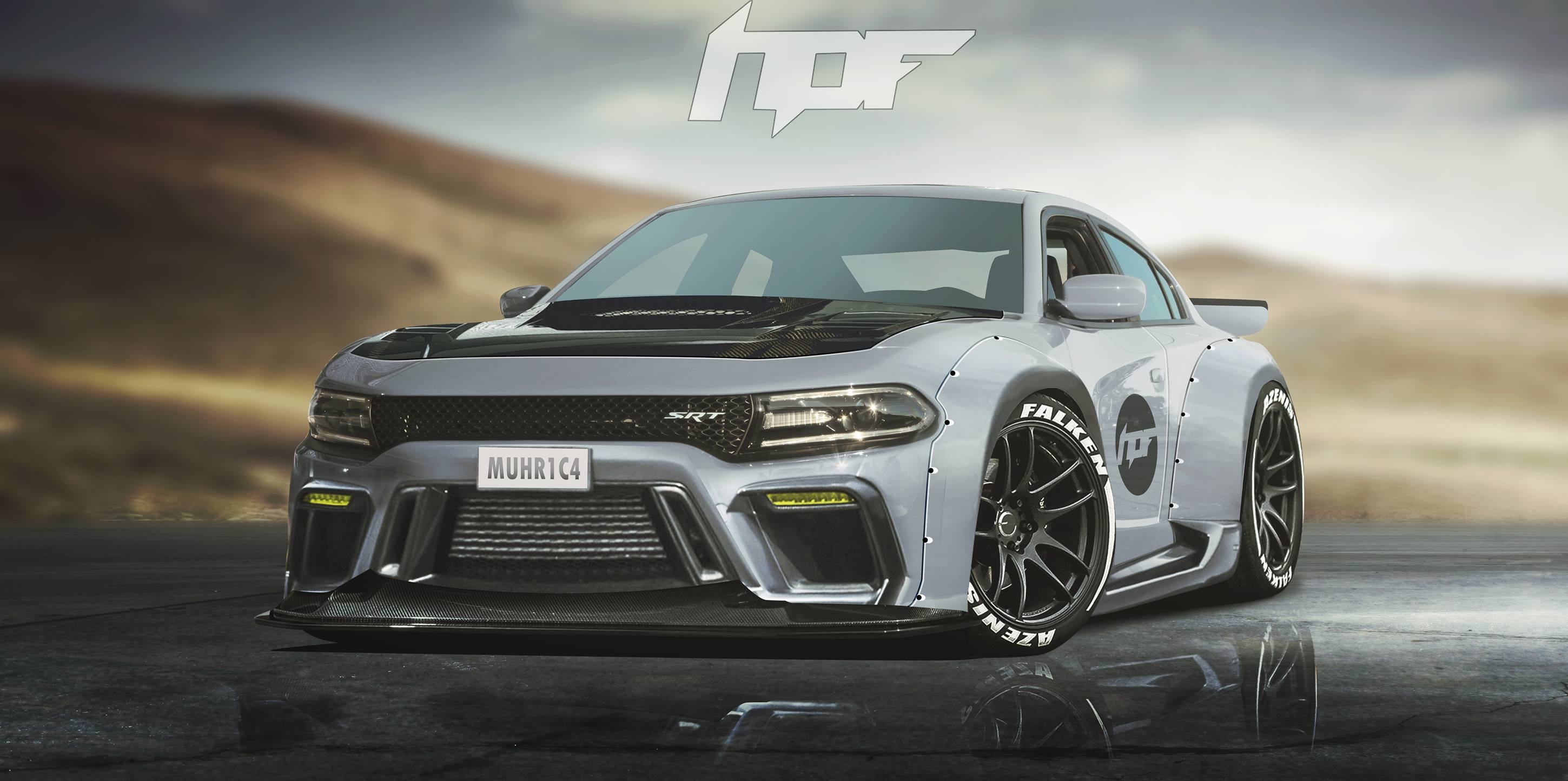 widebody charger by liberty walk srt hellcat forum. Black Bedroom Furniture Sets. Home Design Ideas