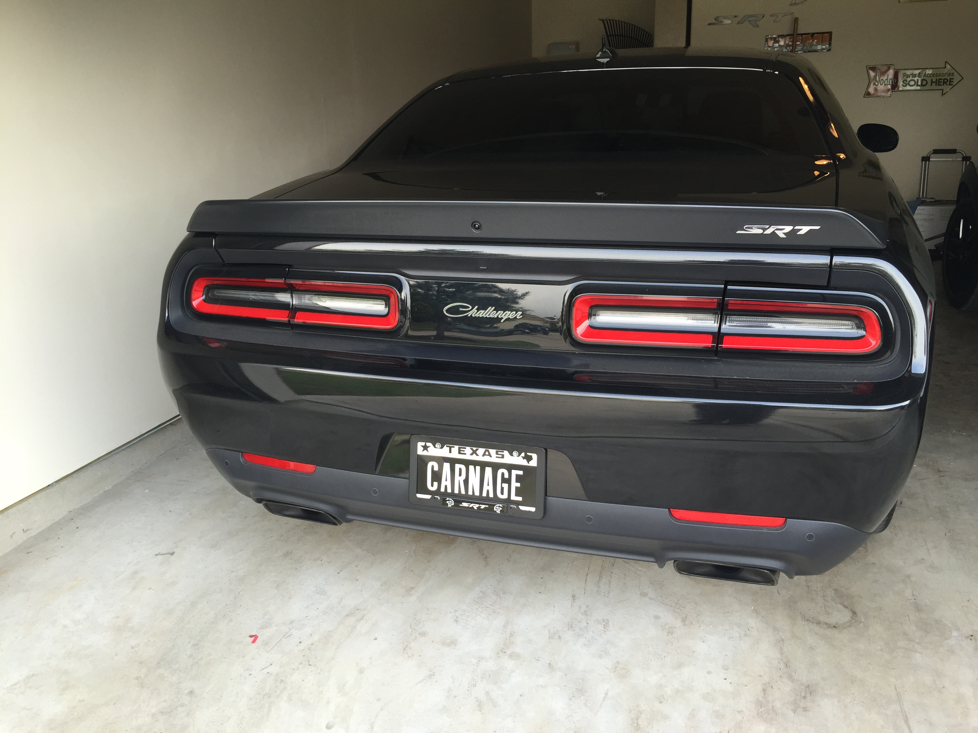Dodge Letters On The Trunk Srt Hellcat Forum