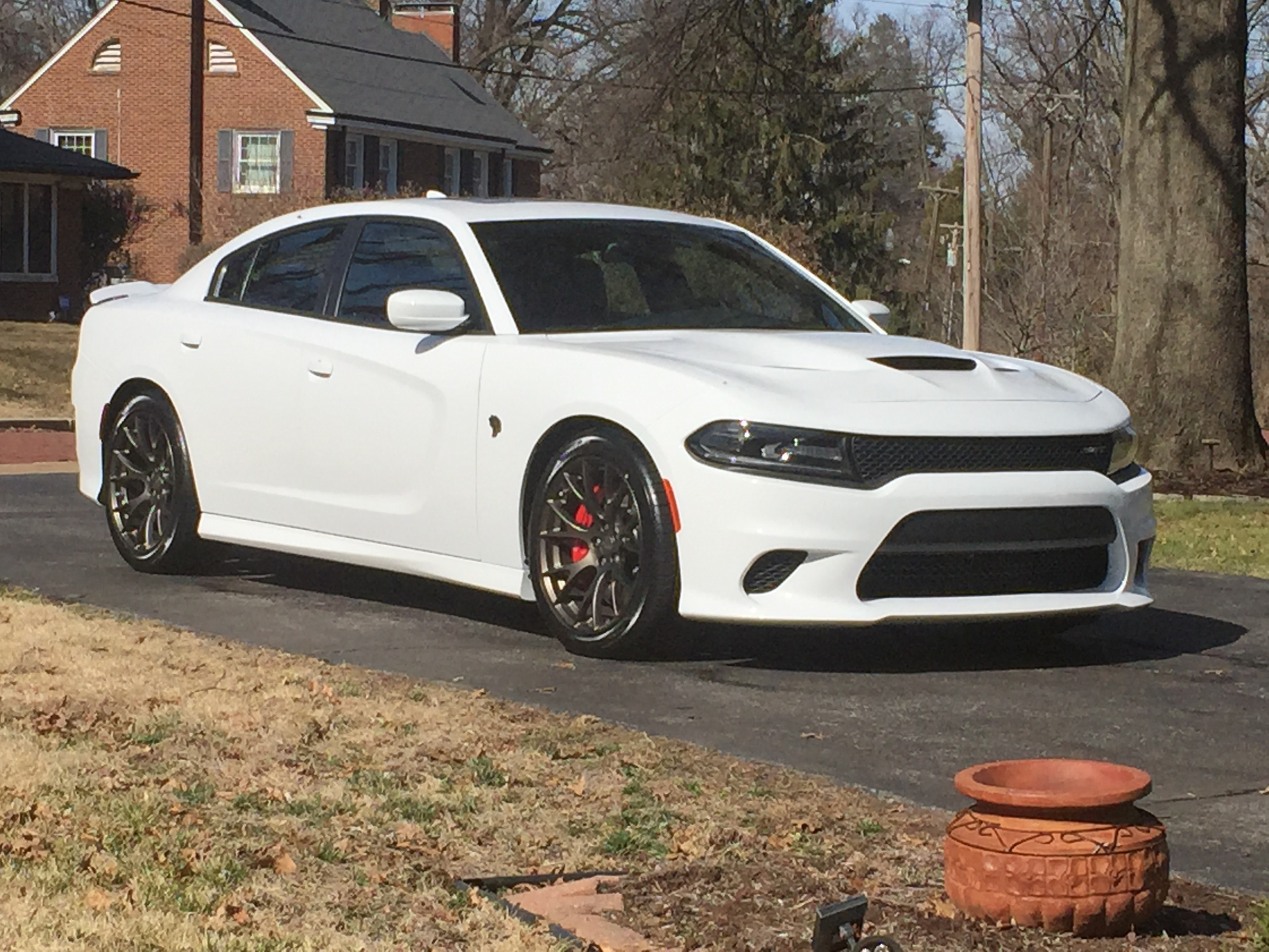 2015 Dodge Durango For Sale >> White Charger Hellcat Pictures   SRT Hellcat Forum