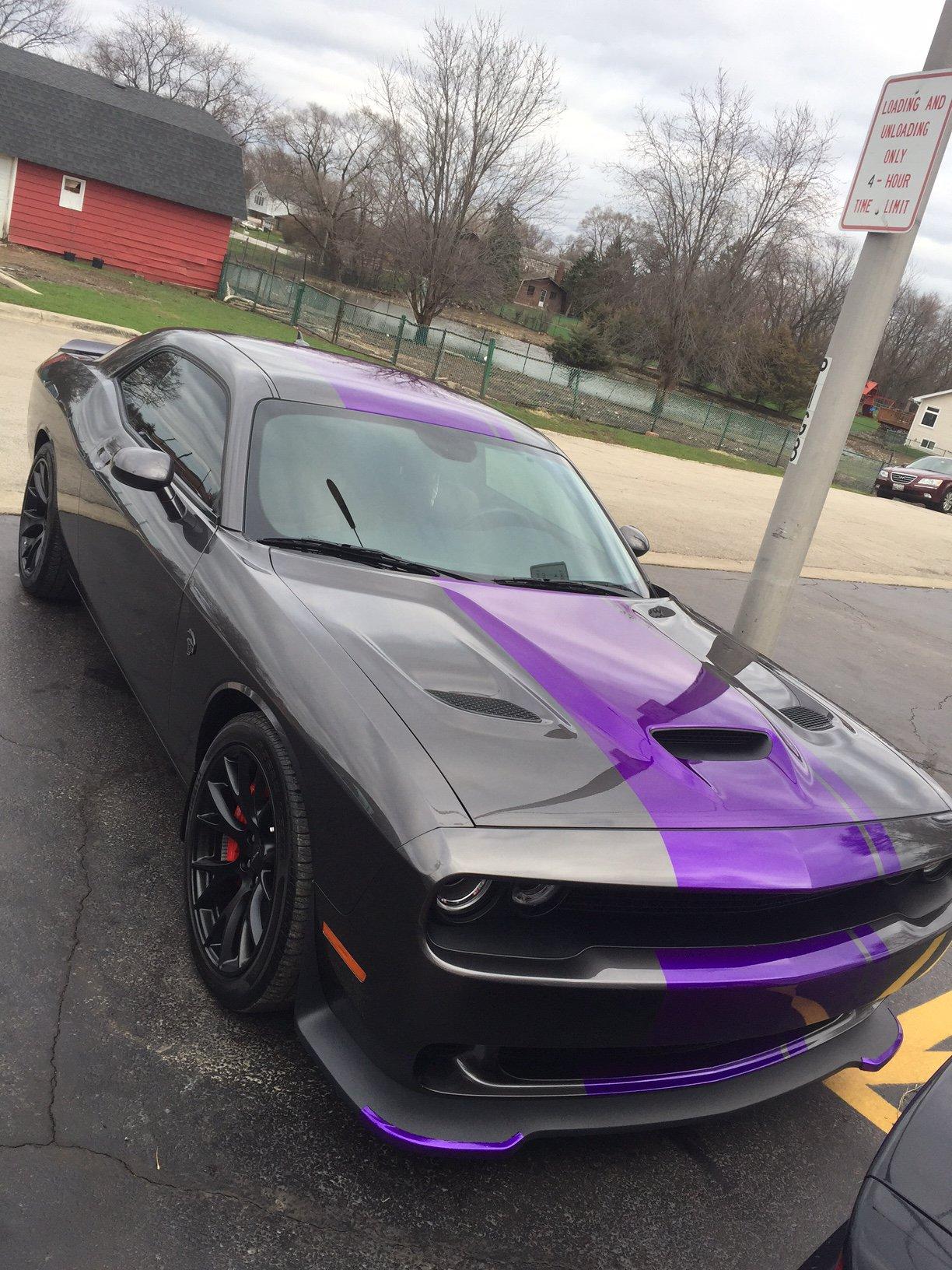 2017 Hellcat Charger >> Purple Stripes, Cquartz Finest and Tint | SRT Hellcat Forum