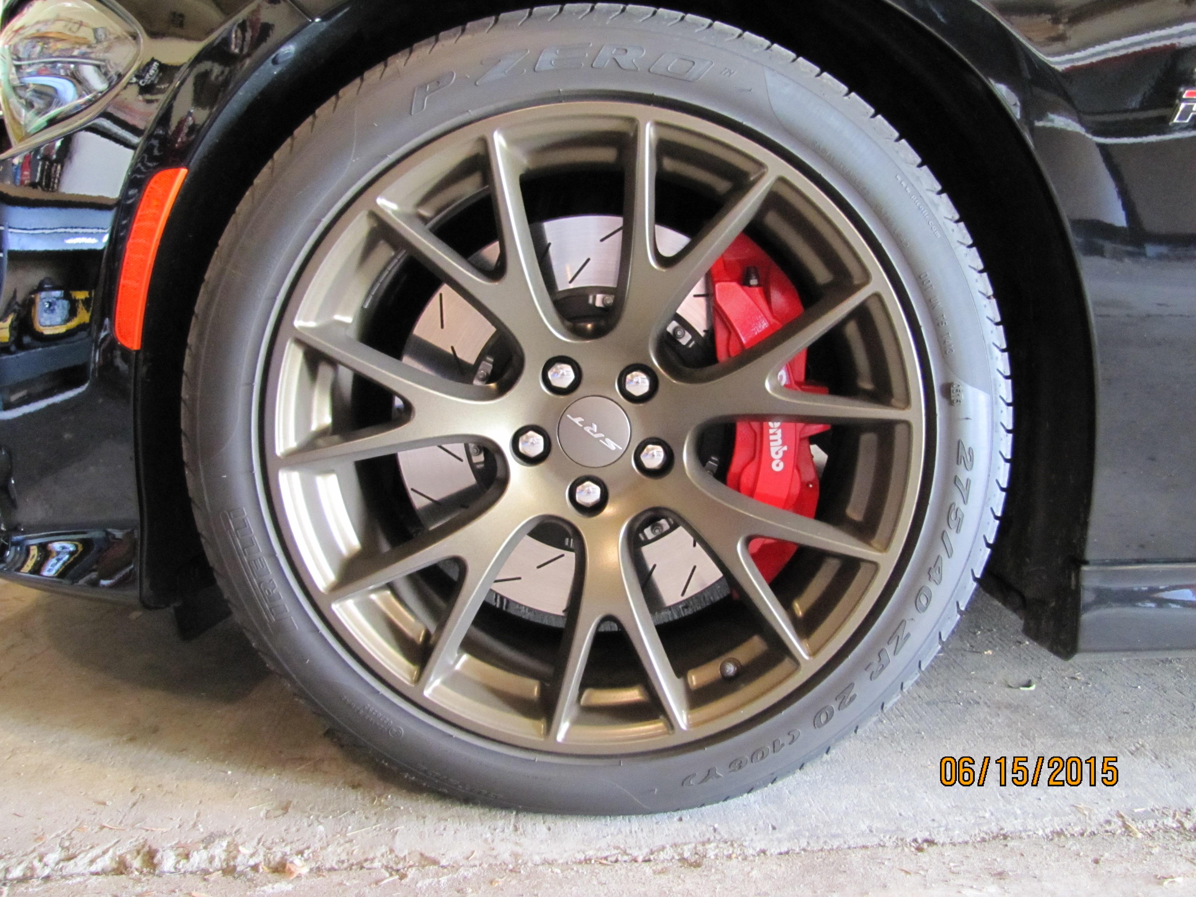 Wheel touch up paint | SRT Hellcat Forum
