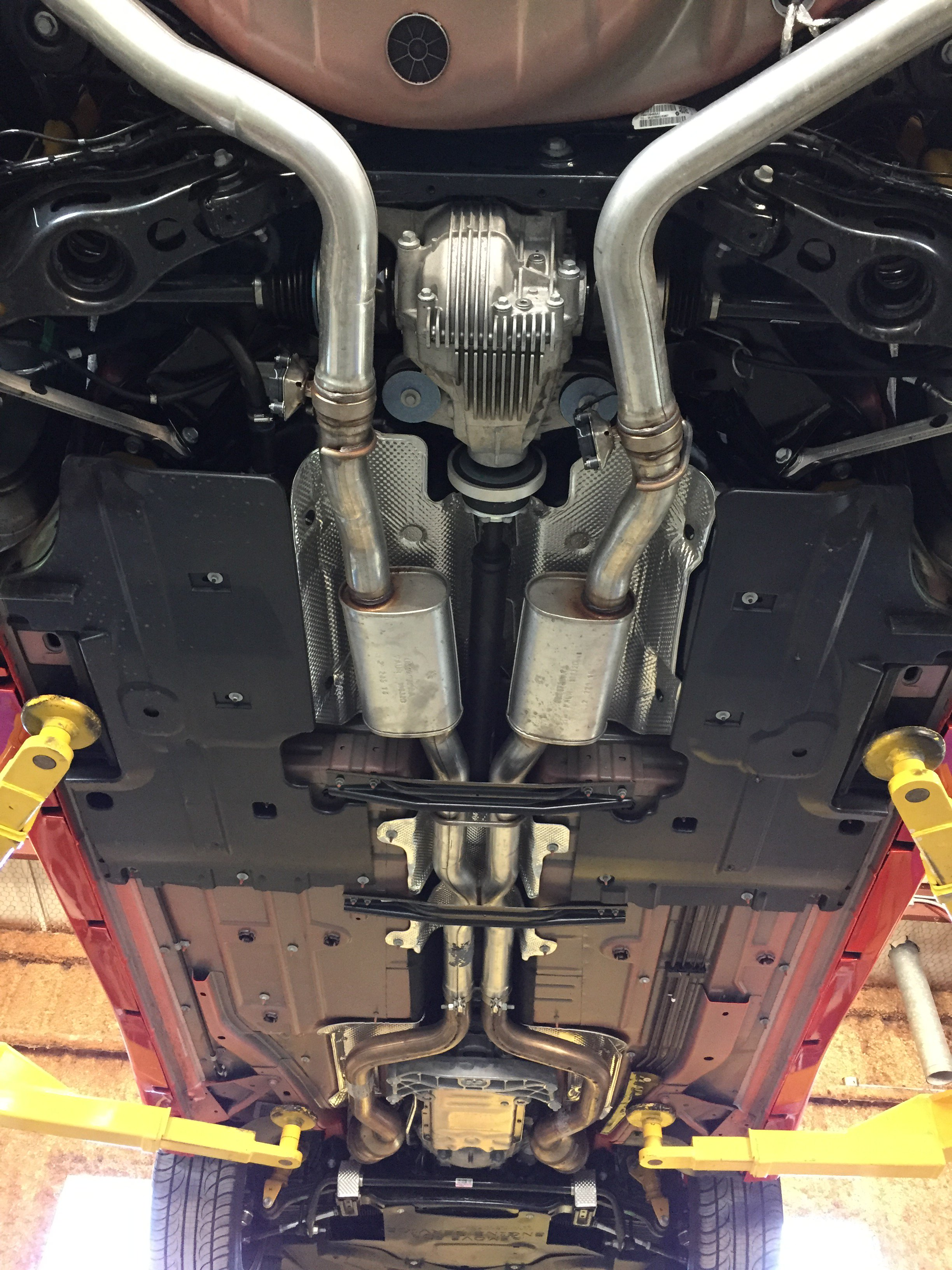 Mid Muffler Delete On A Charger Hellcat Page 4 Srt