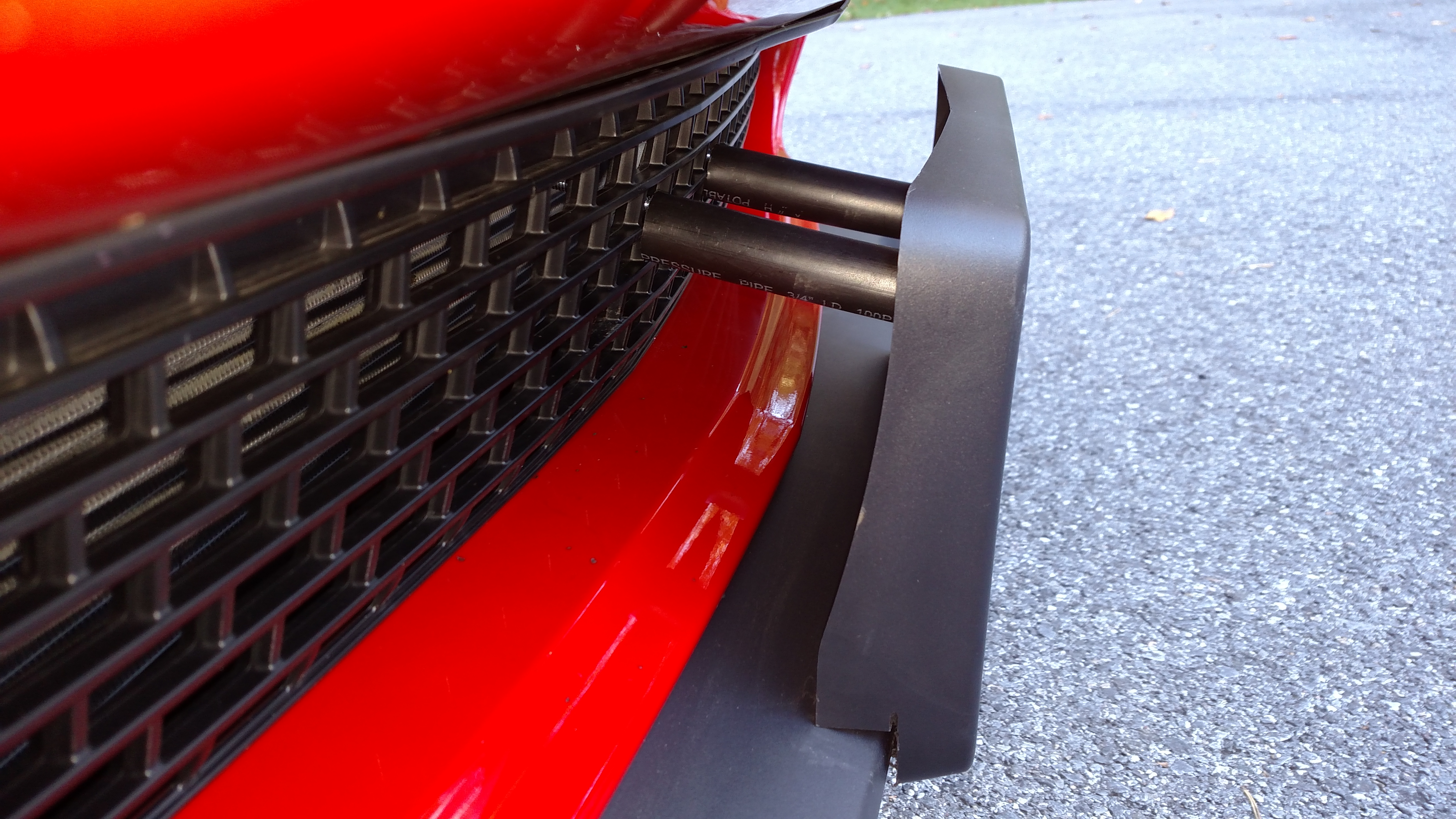 Custom Dodge Challenger Srt Hellcat >> Front license plate bracket | SRT Hellcat Forum