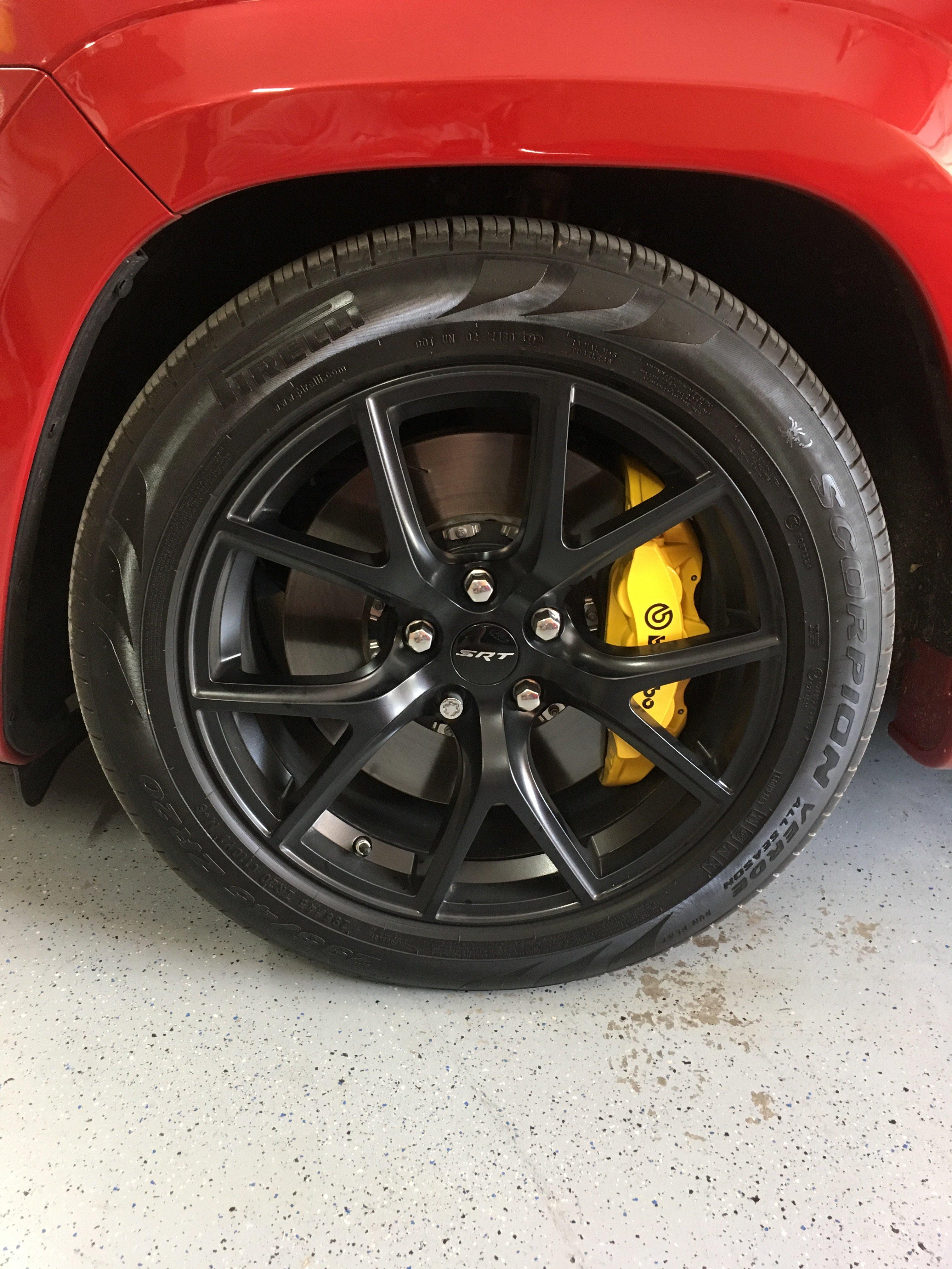 NEW 4pcs SRT Charger Challenger Wheel Chrome Center Cap for Dodge Jeep Ram 2.5/'/'