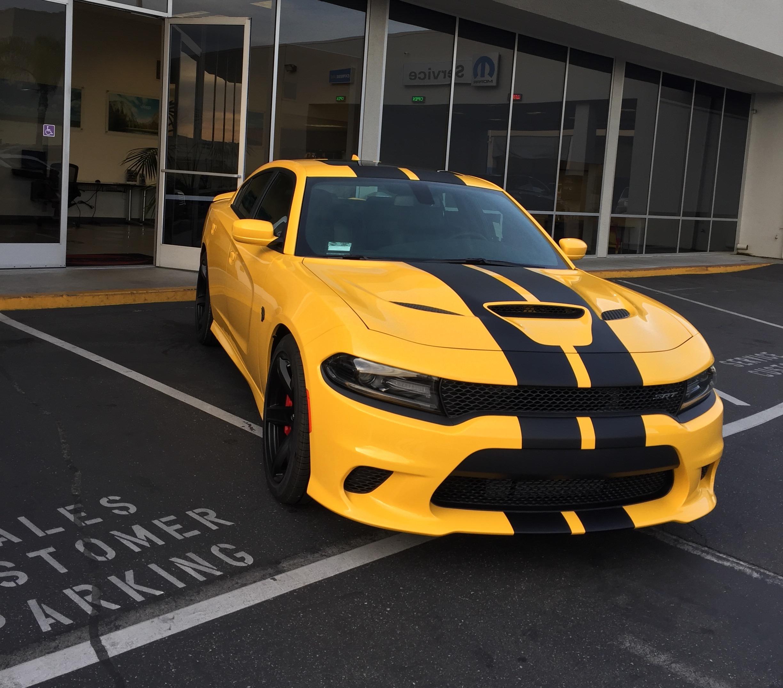 2017 Yellow Jacket Charger Hellcat Srt Hellcat Forum