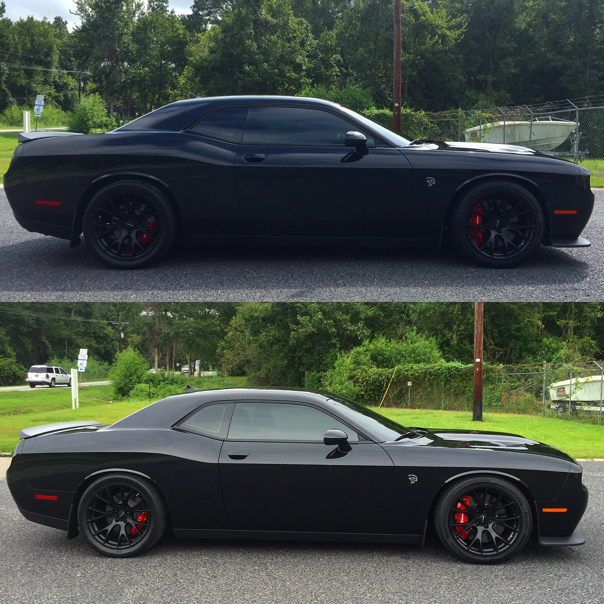 Lowered My Hellcat Challenger With Nittro Dr Srt Hellcat