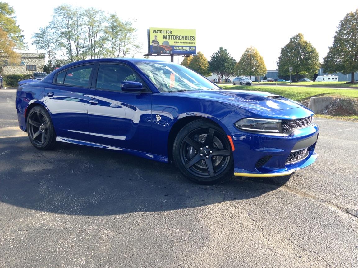 Daytona Charger 2017 Black >> Indigo Blue | SRT Hellcat Forum