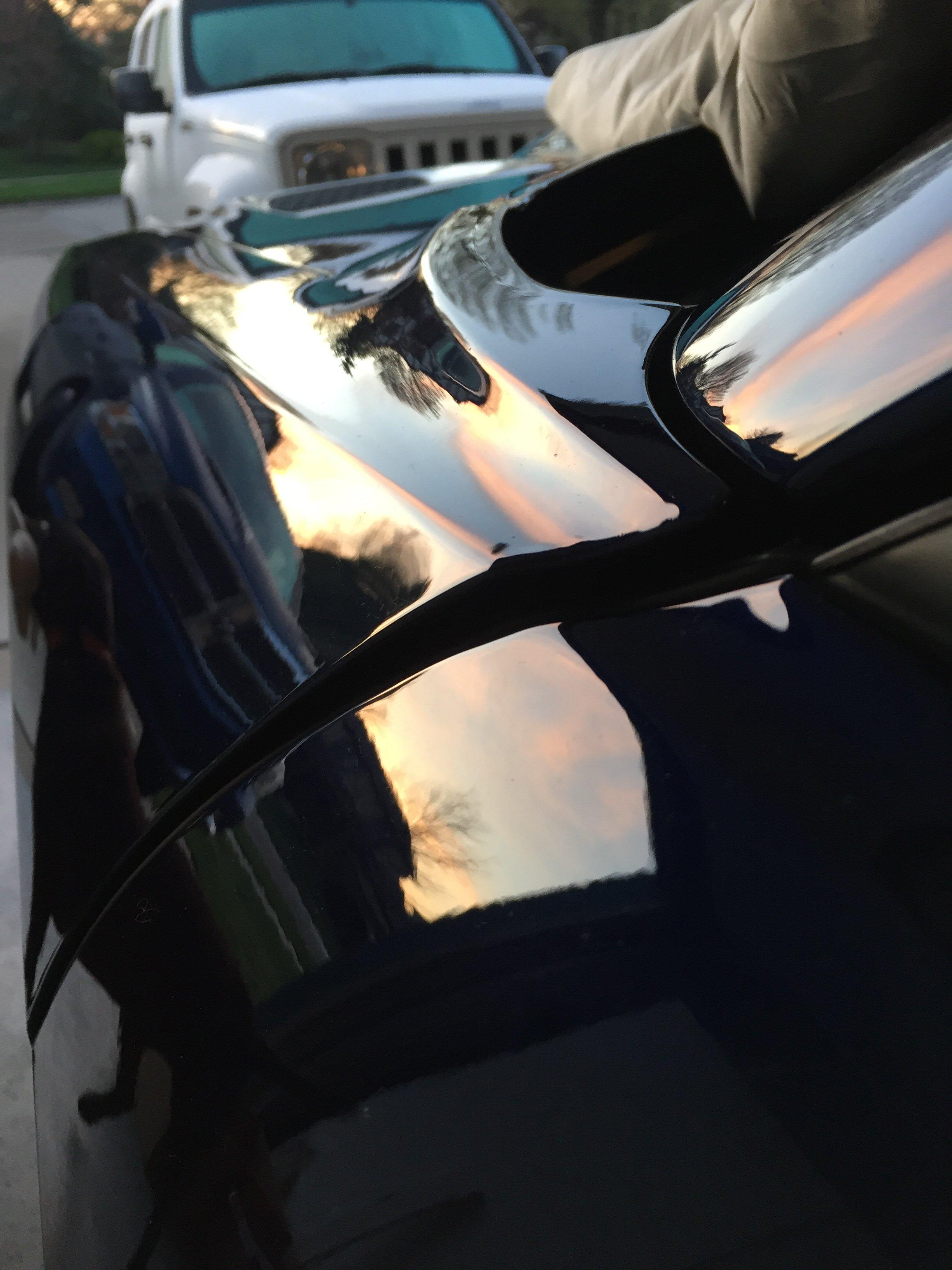 IMG_6697. & BAD FACTORY HOOD DOOR FENDER ALIGNMENT ON DRIVERS SIDE | SRT ...
