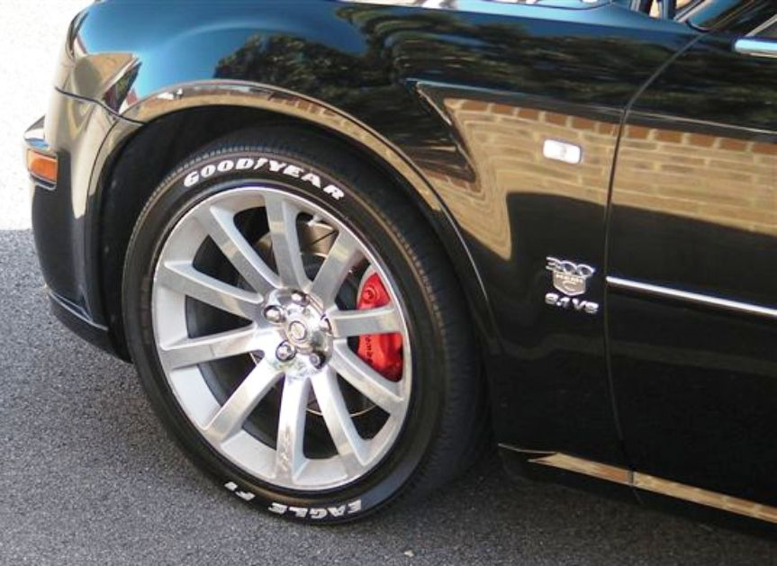 2014 Ford Fusion Tires >> Painting P Zero RED | SRT Hellcat Forum