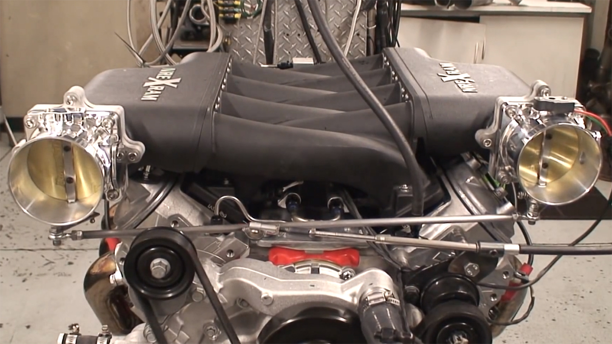 Playing With The Ihi Blower Custom Manifold Process Page 2 Srt Pontiac 400 Intake Diagram Nelson2