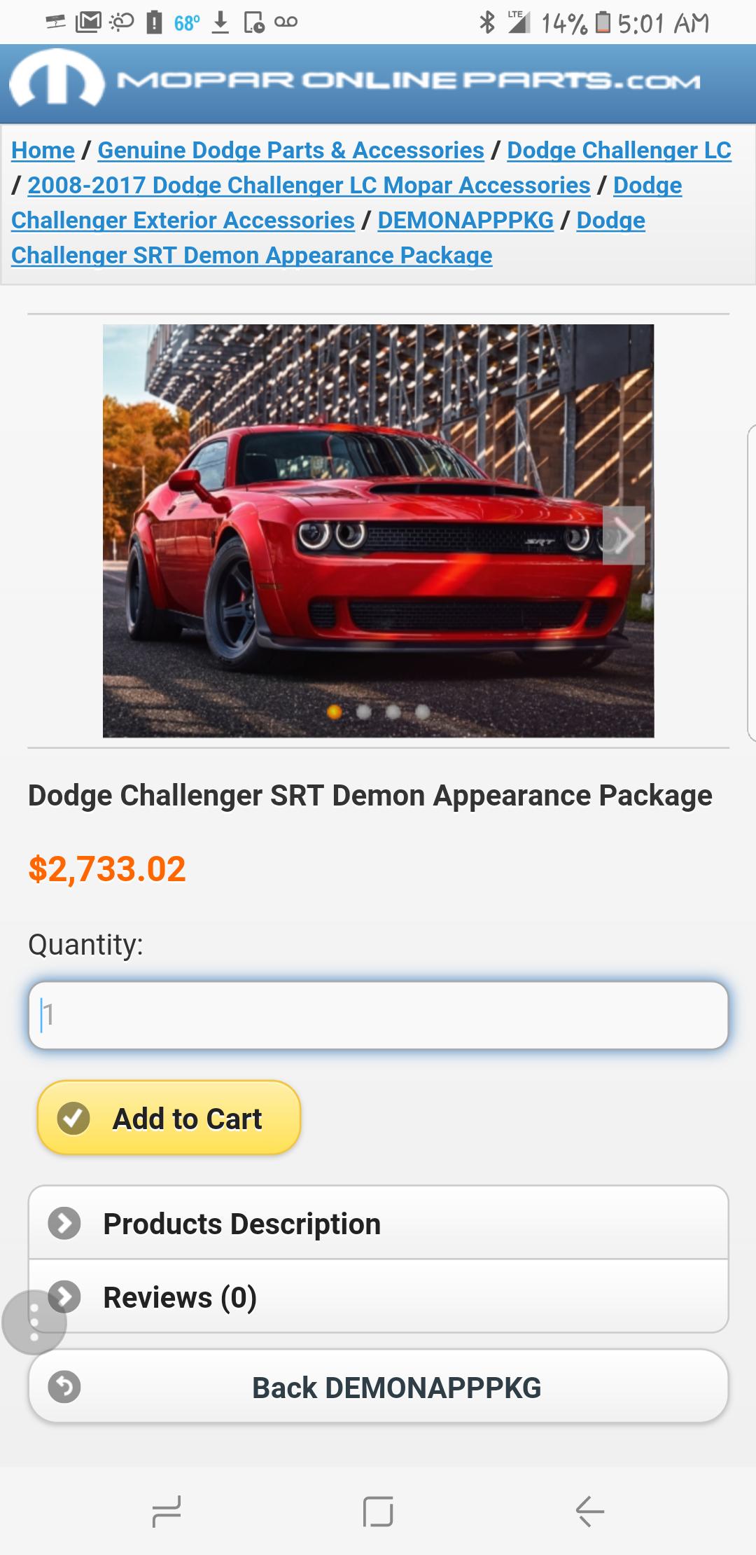 Srt Demon Appearance Package 2733 02 Srt Hellcat Forum