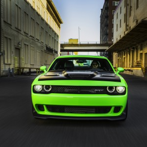 2015 Dodge Challenger SRT with the HEMI® Hellcat engine